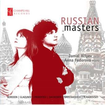 Les Maîtres Russes, Œuvres pour violoncelle et piano