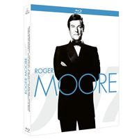 Coffret Roger Moore La Collection James Bond 007 7 Films Blu-ray