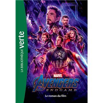 AvengersBibliothèque Marvel 22 - Avengers : Endgame - Le roman du film