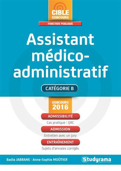 Concours assistant médico-administratif