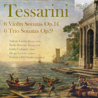 Tessarini - 6 Violin Sonatas Op.14, 6 Trio Sonatas Op.10 - 2 CD