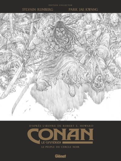 Conan le Cimmérien - Le Peuple du cercle noir N&B