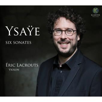 Ysaÿe : Sonates pour violon seul Digipack