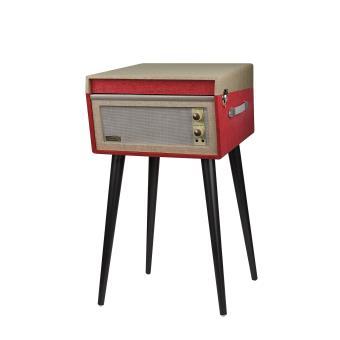 platine crosley bermuda turntable rouge exclusivit fnac platine vinyle fnac. Black Bedroom Furniture Sets. Home Design Ideas