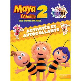 Maya L'abeilleMaya l'abeille 2, Activités et autocollants