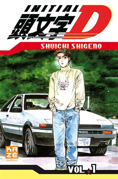 Initial D - tome 1