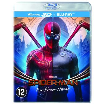 SPIDER-MAN : FAR FROM HOME-BIL-BLURAY 3D