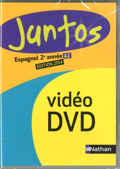 Juntos 2e annee dvd/video clas