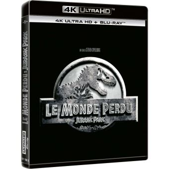 Jurassic ParkJurassic Park Le monde perdu Blu-ray 4K Ultra HD