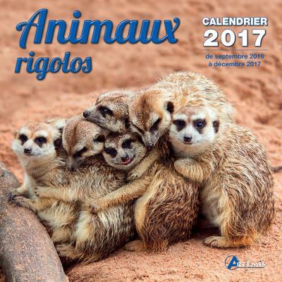 Calendrier 2017 Animaux rigolos