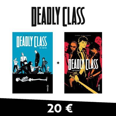 Pack t1 et 2 deadly class 20 ¤uros