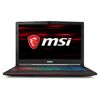 "Laptop MSI GP63 8RE-048BE 15.6"" GTX1060 6Go"