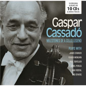 MILESTONES OF A CELLO LEGEND/10CD