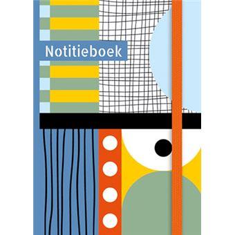 NOTITIEBOEK (KLEIN) - MULTICOLOR