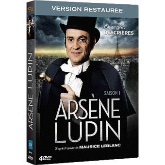 Arsène LupinArsène Lupin Saison 1 DVD