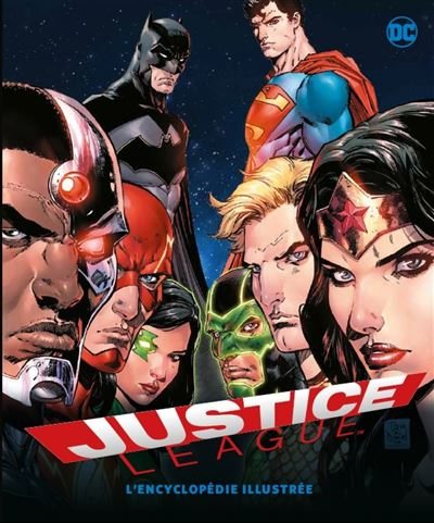 Justice League - Tome 1 : L'encyclopédie illustrée