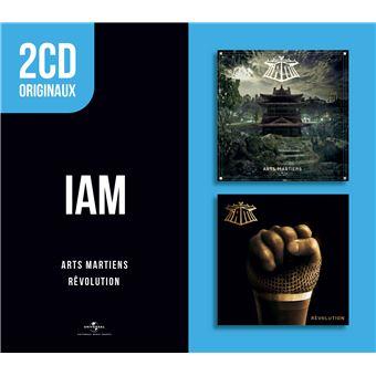 2 CD Originaux : Arts Martiens Rêvolution