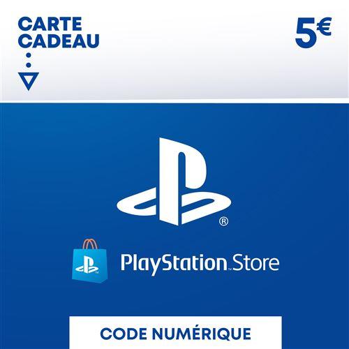 Code de téléchargement Playstation Store Fonds pour Porte-Monnaie virtuel 5