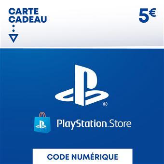 Carte Cadeau Fnac Contre Argent.Code De Telechargement Playstation Store Fonds Pour Porte Monnaie Virtuel 5