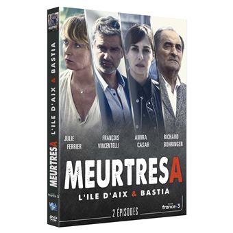 Meurtres àMeurtres à l'île d'Aix Bastia DVD