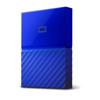 Disque dur externe WD My Passport 4 To Bleu