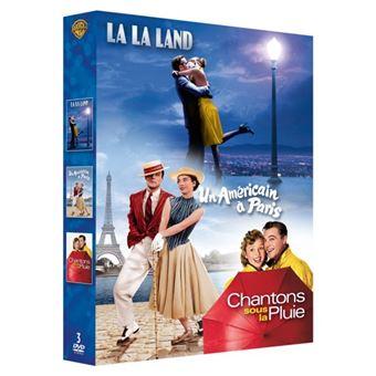 Coffret Comédies musicales DVD
