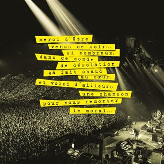 40 Ans de chansons sur scène Coffret Inclus DVD
