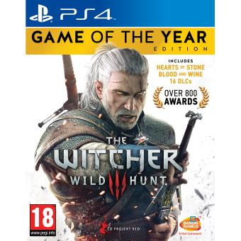 The Witcher 3 : Wild Hunt – Game Of The Year Edition PS4