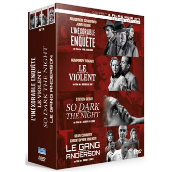 Coffret Films noirs Volume 3 DVD