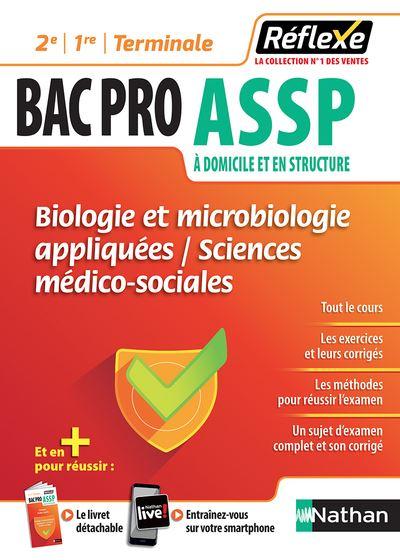 Biologie et microbiologie appliquées - SMS 2e/1re/Terminale Bac pro ASSP - Guide Réflexe N02 - 2018