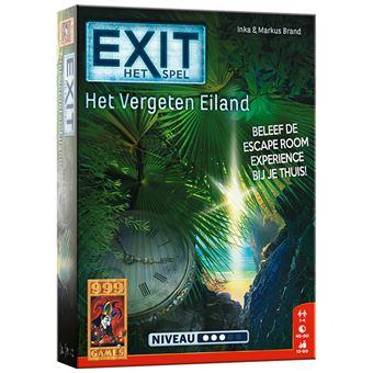 Exit het vergeten eiland escape room