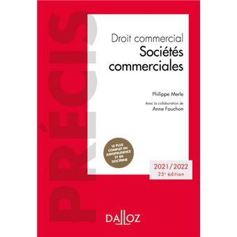 Droit commercial Sociétés commerciales 2018-2019