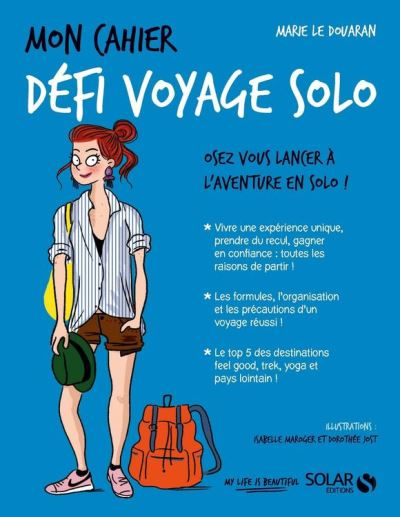 Mon cahier Défi voyage solo - 9782263156311 - 4,99 €