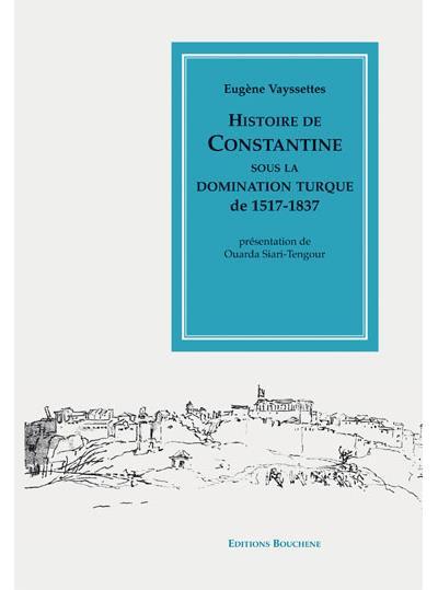 Histoire de Constantine sous la domination turque
