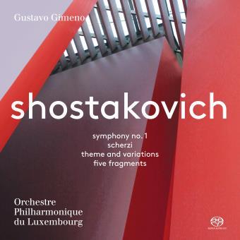 SHOSTAKOVICH - SYMPHONY NO. 1 & OTHER SHORT WORKS/SACD