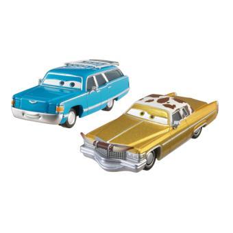 coffret 2 voitures cars the king et dinoco mattel voiture achat prix fnac. Black Bedroom Furniture Sets. Home Design Ideas