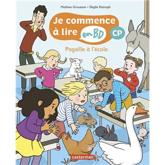 Je commence à lire en BDPagaille à l'école CP