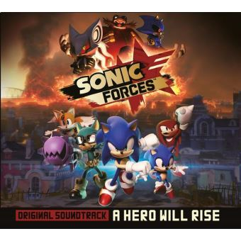 Sonic forces/a hero will rise ost