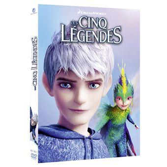 Les Cinq légendes DVD