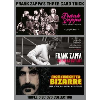 Three Card Trick DVD