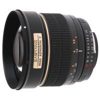 SAMYANG 1.4/ 85MM CANONDSLR-lens Samyang 85 mm f / 1.4 Asphérical IF; Canon MountShink Lens Samyang 85mm f / 1.4 Asphérical IF; Canon mount