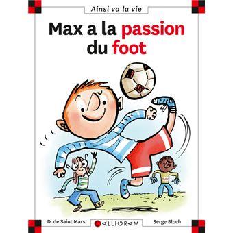 Max et LiliMax a la passion du foot