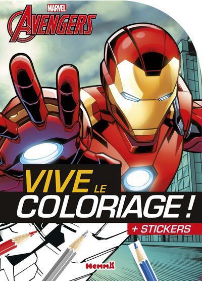 Avengers -  : Marvel Avengers Vive le coloriage ! (Iron Man)