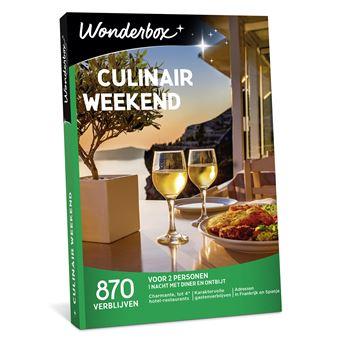 Wonderbox NL Culinair Weekend