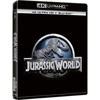 Jurassic ParkJurassic World Blu-ray 4K Ultra HD