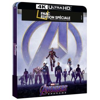 AvengersAvengers: Endgame Steelbook Edition Spéciale Fnac Blu-ray 4K Ultra HD