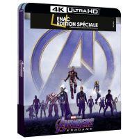 Avengers: Endgame Steelbook Edition Spéciale Fnac Blu-ray 4K Ultra HD