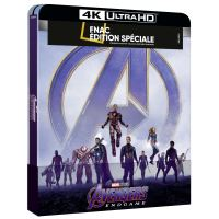 AVENGERS ENDGAME-BIL-BLURAY 4K STEELBOOK