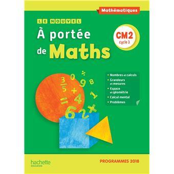 Le Nouvel A Portee De Maths Cm2 Manuel Eleve