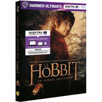 Bilbo le HobbitLe Hobbit : Un voyage inattendu - Blu-Ray